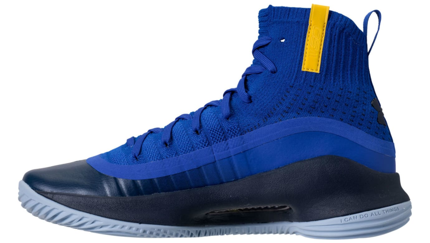 Under Armour Curry 4 Away Release Date 1298306-401 Medial