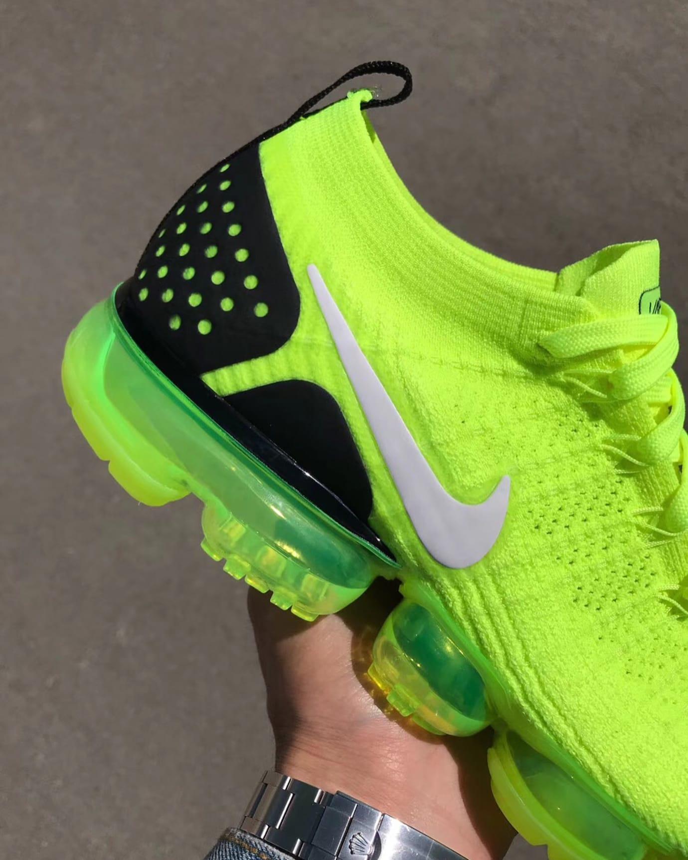 Nike Air VaporMax 2 Flyknit Volt Release Date 942842-700 (5)