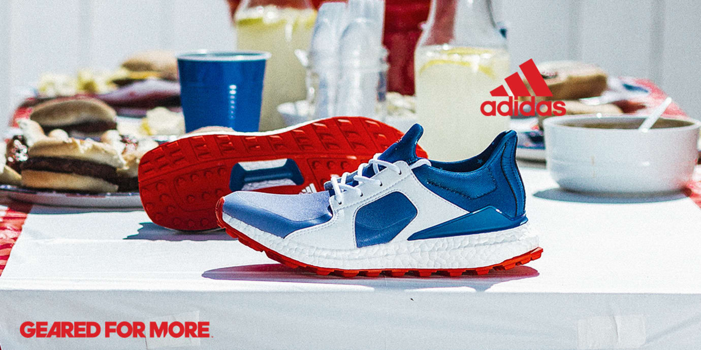 Adidas Golf Red White and Blue Boost Pack Eneste samler  Sole Collector