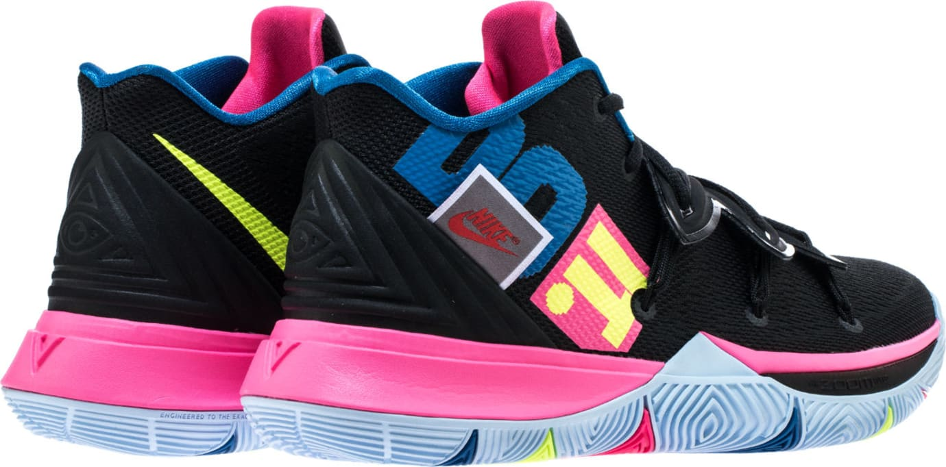 8353c75620a2 Image via Shoe Palace Nike Kyrie 5  Just Do It  AO2918-003 (Heel)