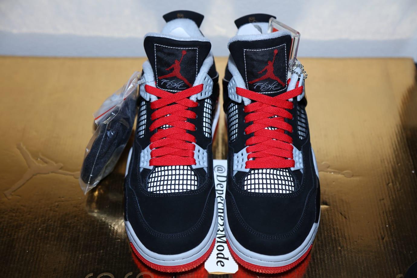 OVO Air Jordan 4 'Splatter' (Front)