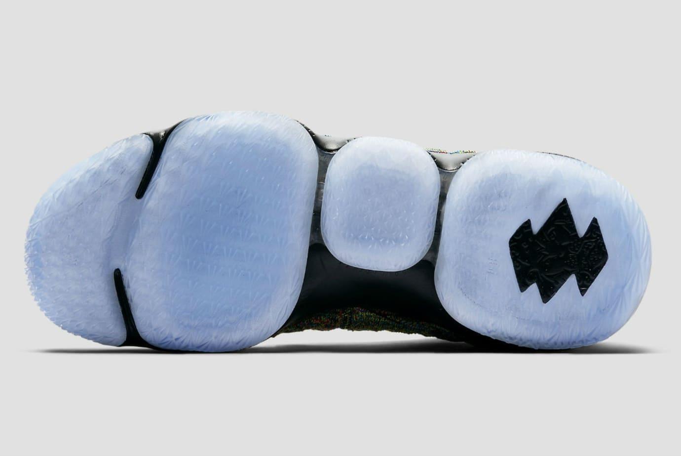 3a588be090e3be Nike LeBron 15 XV Four Horsemen Black Fruity Pebbles Release Date 897648-901  Sole