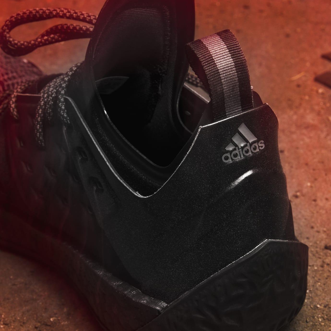 a5b0372e4aac Adidas Harden Vol. 2 Nightmare Release Date F34361 Heel