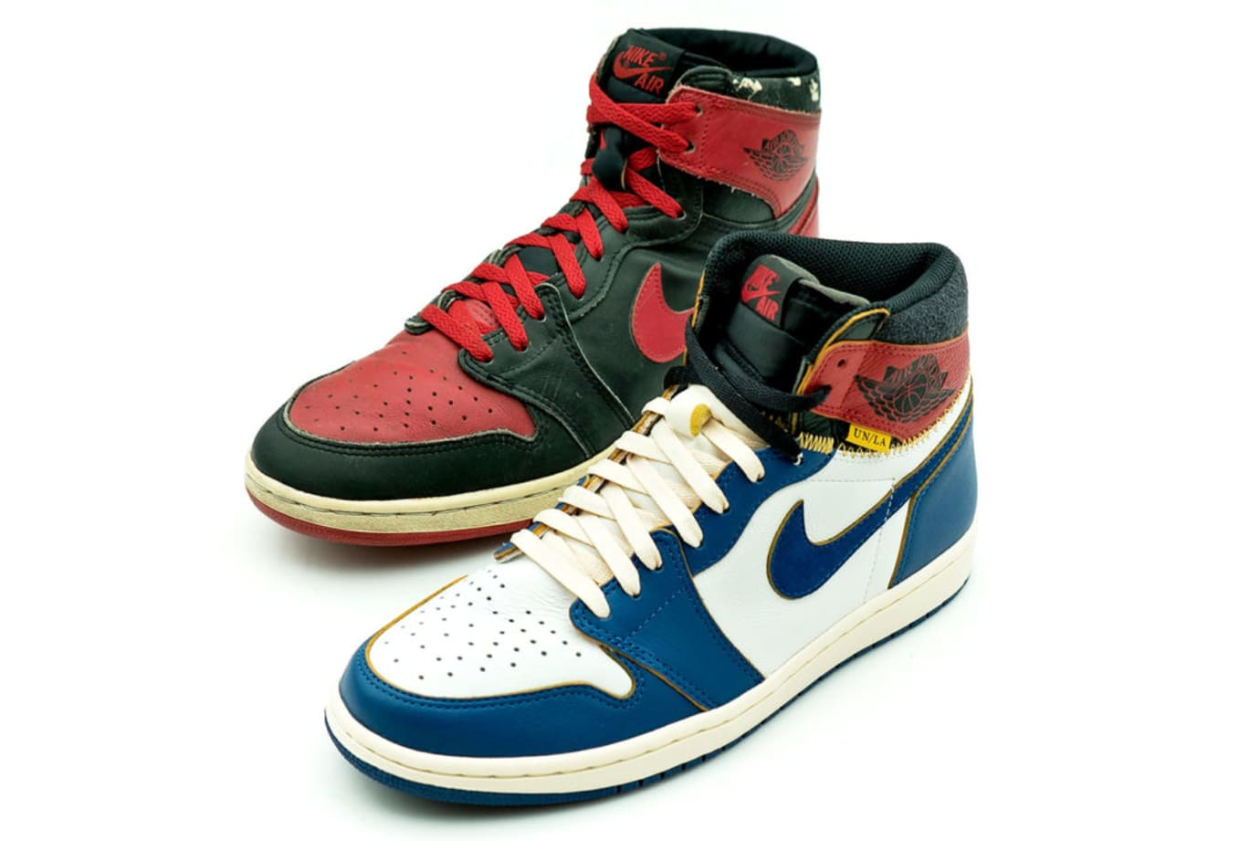 Union x Air Jordan 1 Comparison (vs. 'Black/Red')