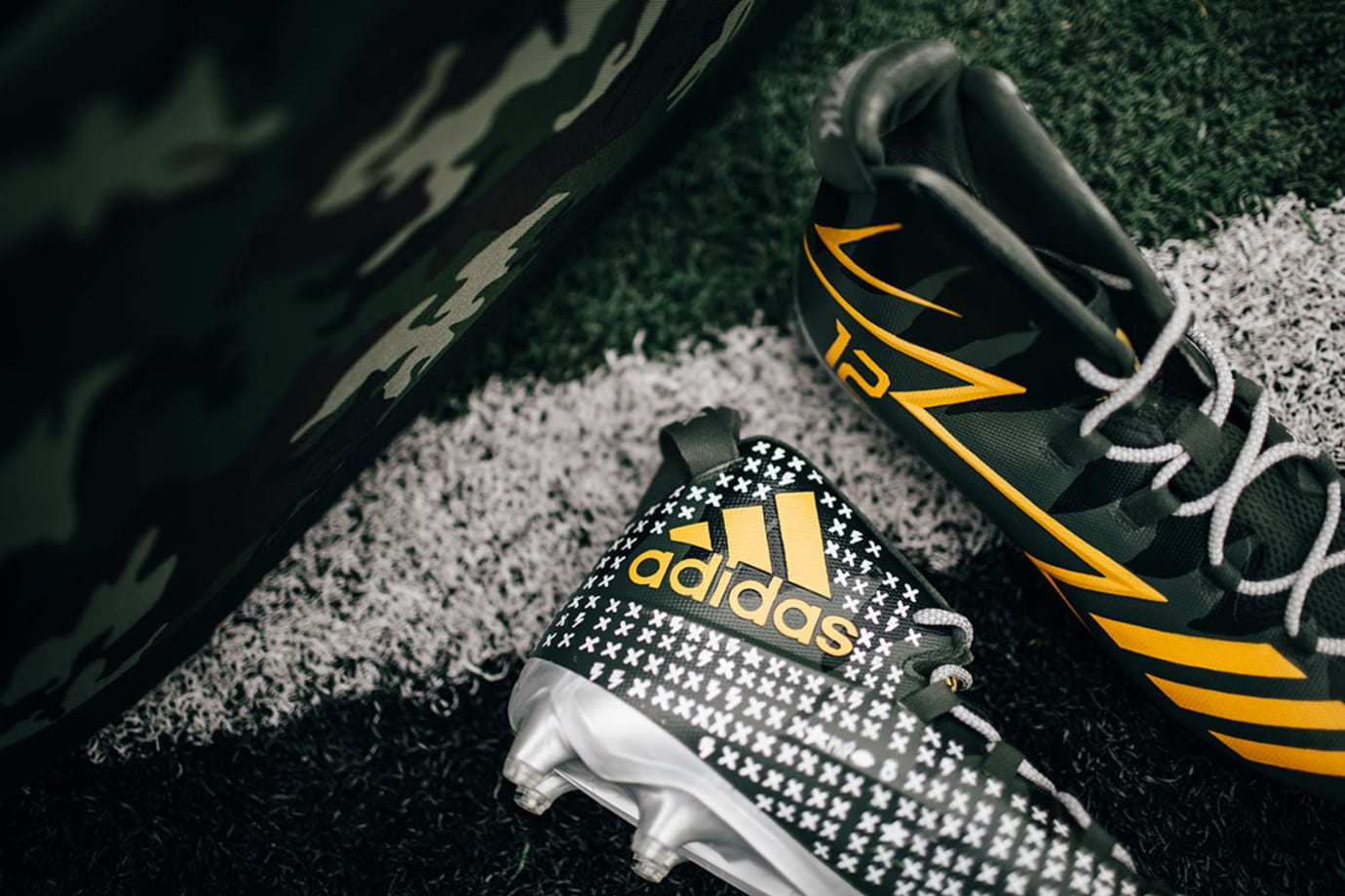 Adidas Call of Duty Cleats Aaron Rodgers