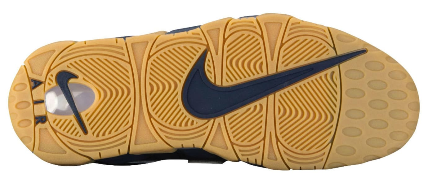 Nike Air More Uptempo Obsidian Gum Release Date Sole 921948-400