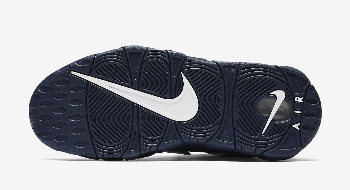 Navy Nike Air More Uptempo 415082-401 Sole