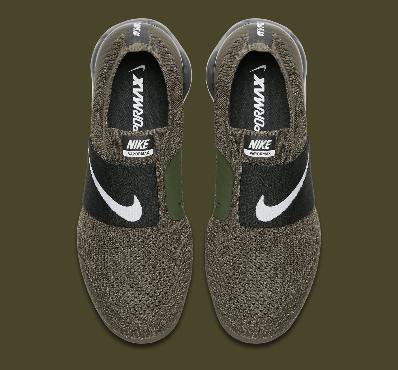 Olive Nike Air VaporMax Moc AA4155-300 Top