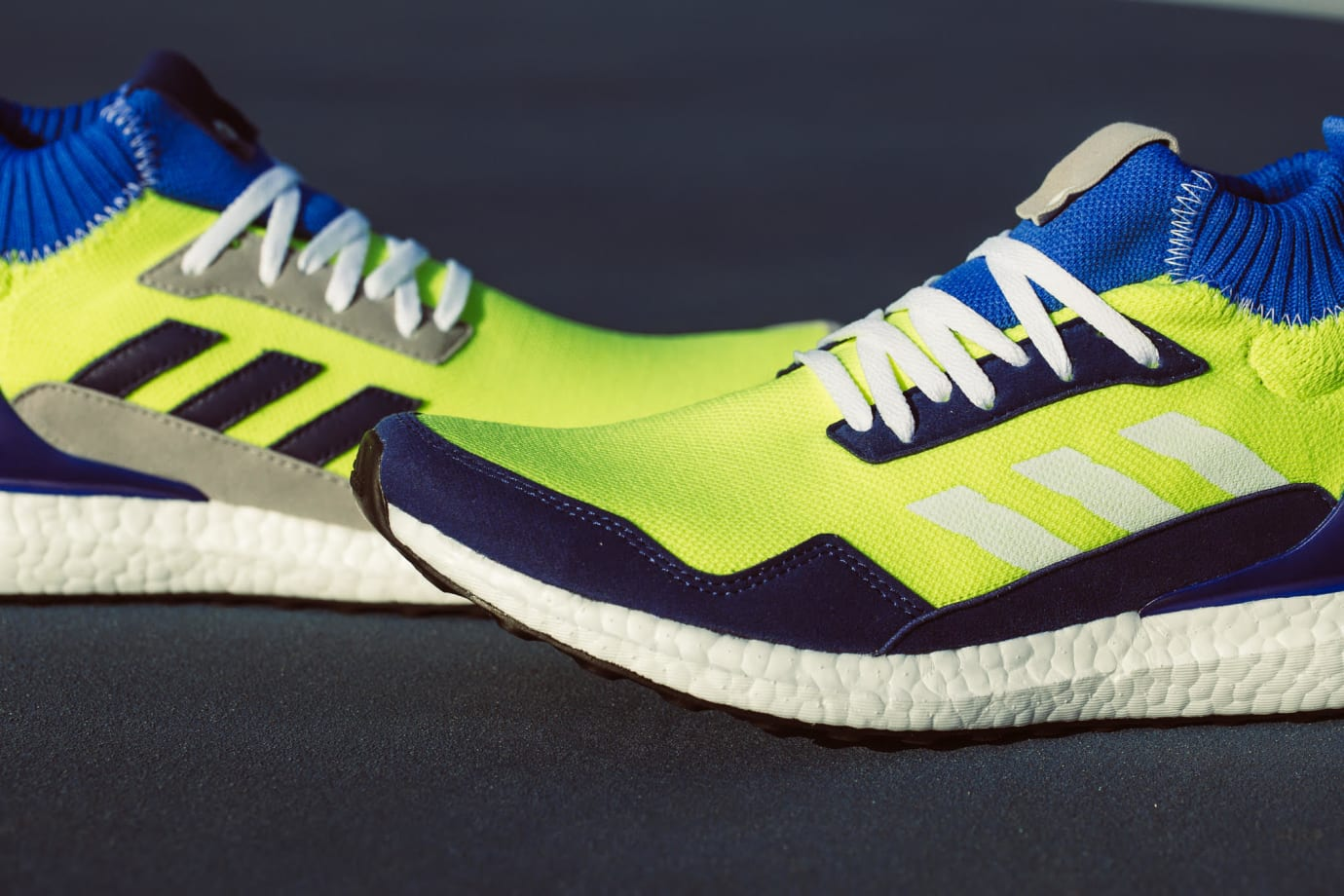 new style 11528 80b55 Image via INVINCIBLE · Adidas Consortium Ultra Boost Mid Prototype Release  Date BD7399 Forefoot