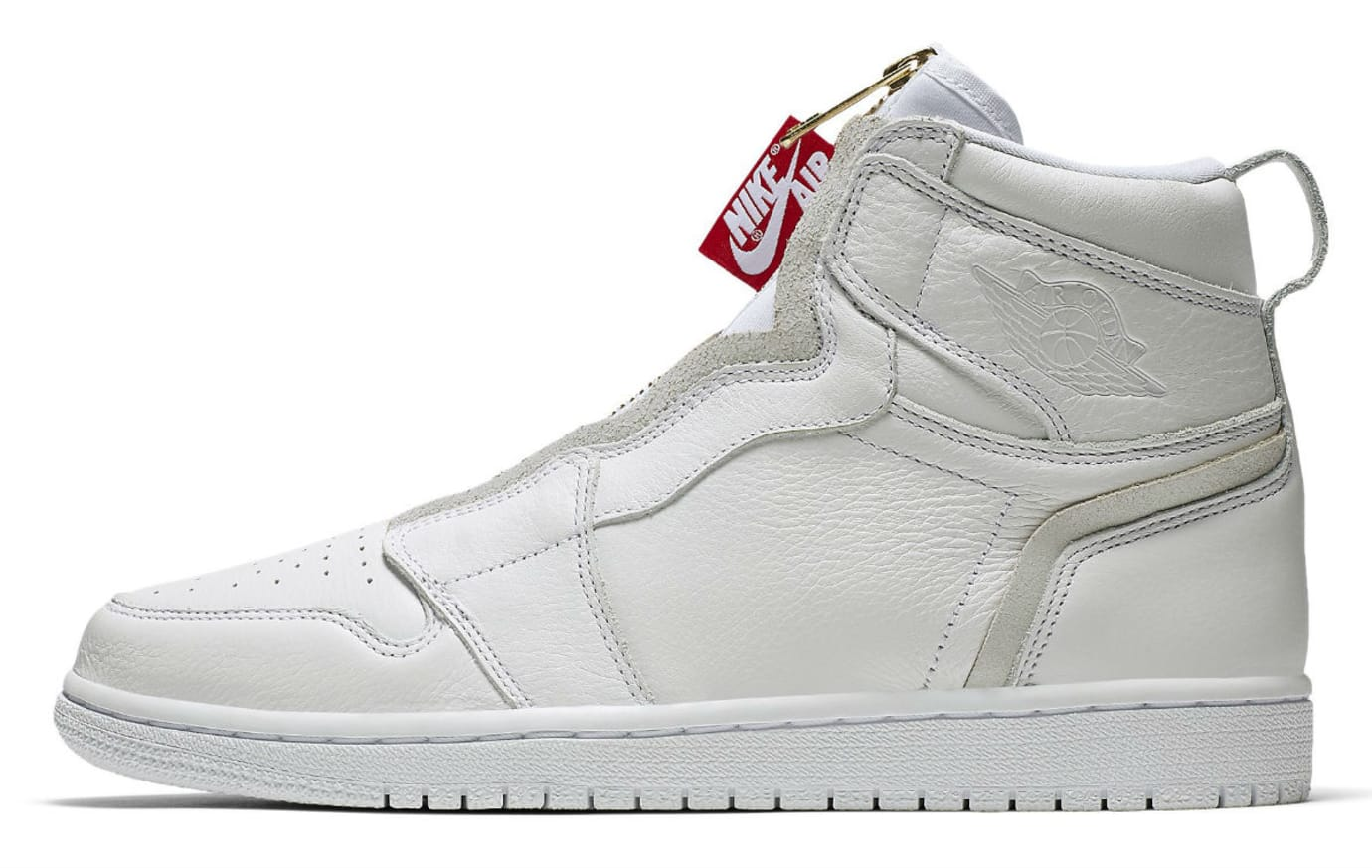 Air Jordan 1 High Zip Womens White Release Date AQ3742-116 Profile