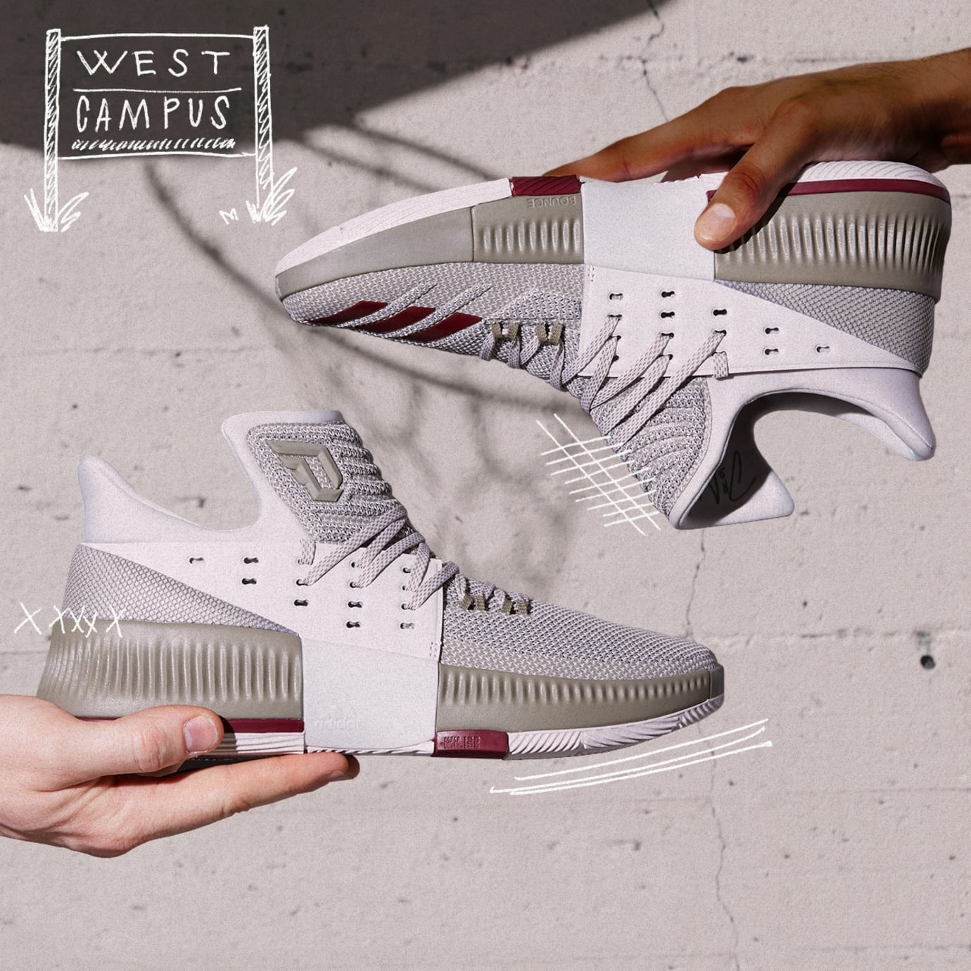the latest e3275 b6bbf Image via Adidas Adidas Dame 3