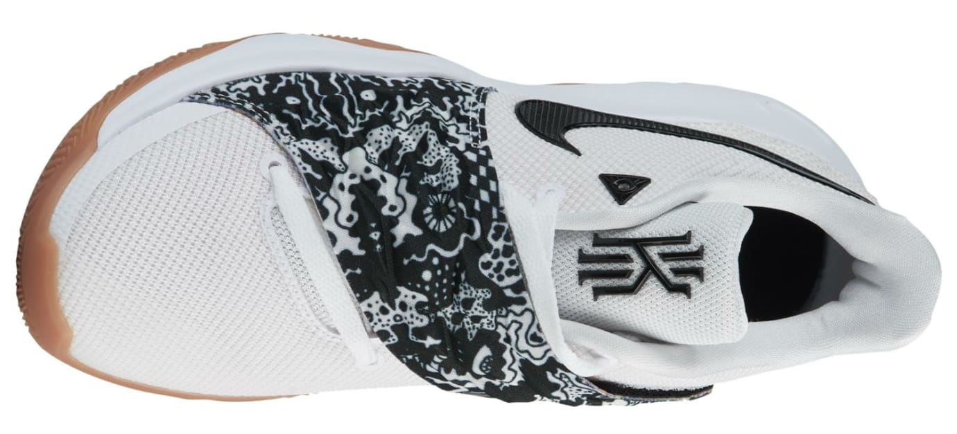 Nike Kyrie 4 Low White Black AO8979-100 Top