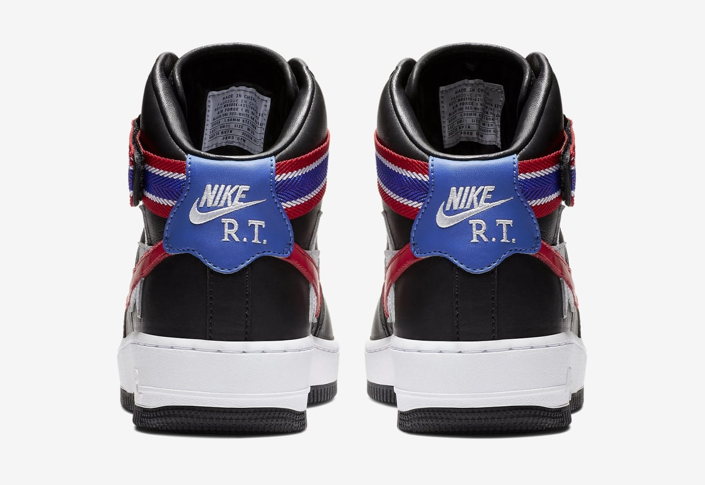 Riccardo Tisci Nike Air Force 1 AQ3366-001 Heel