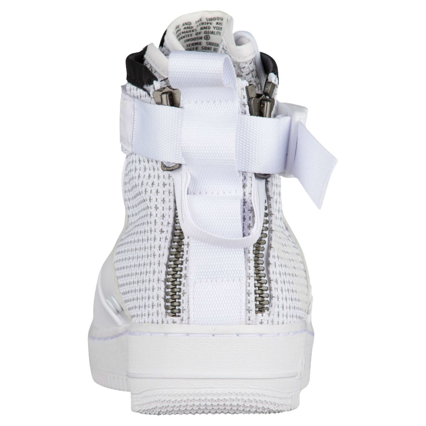 Nike SF Air Force 1 Mid Winter IBEX White Release Date Heel AA1129-100