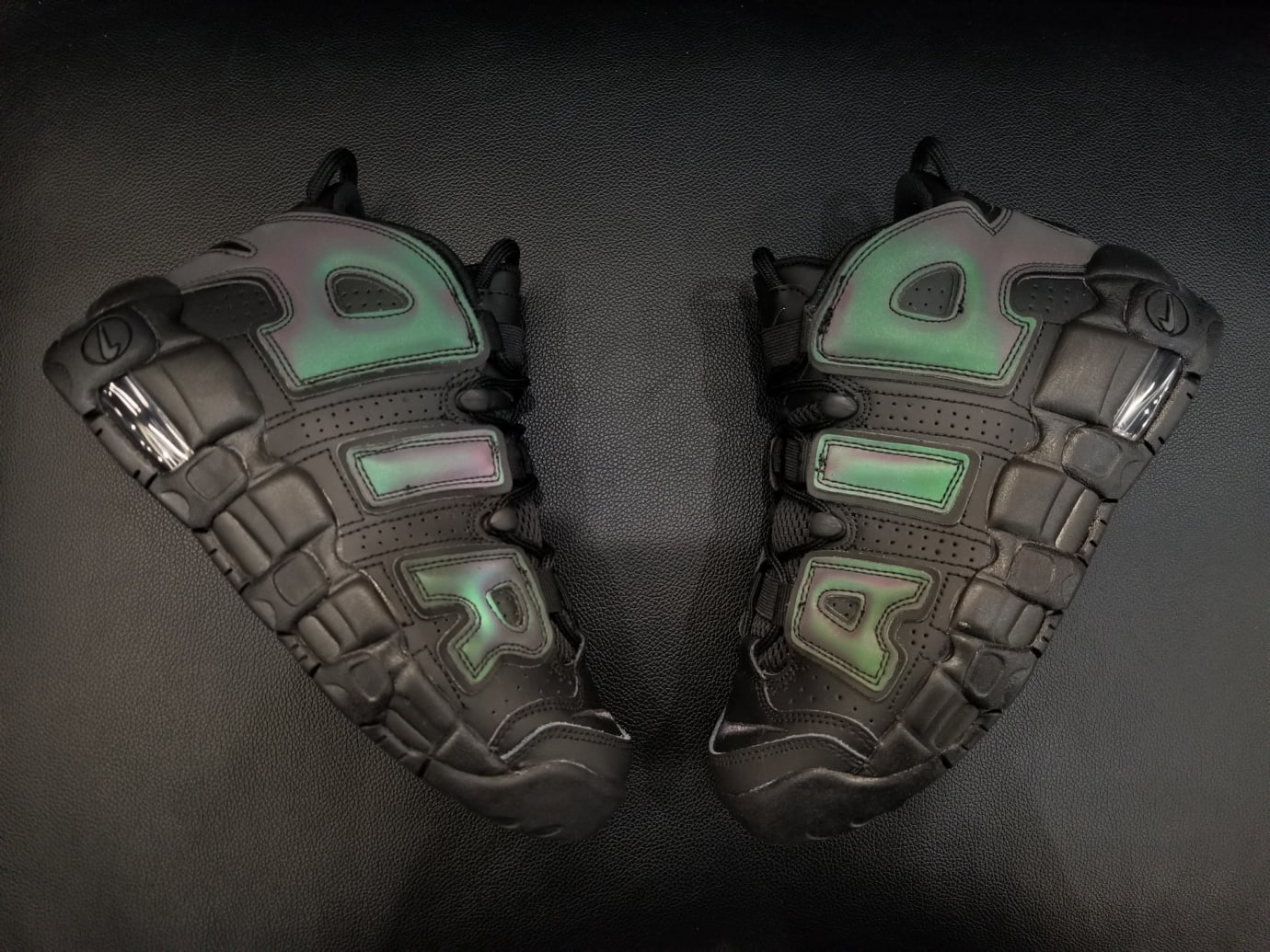 Nike Air More Uptempo GS 'Reflective' 922845-001 (Pair 2)