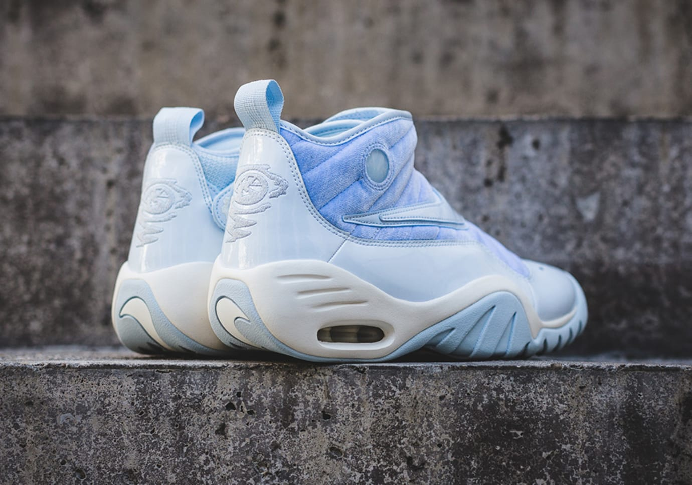 Nike Air Shake Ndestrukt Easter Blue Release Date Heel 943020-400