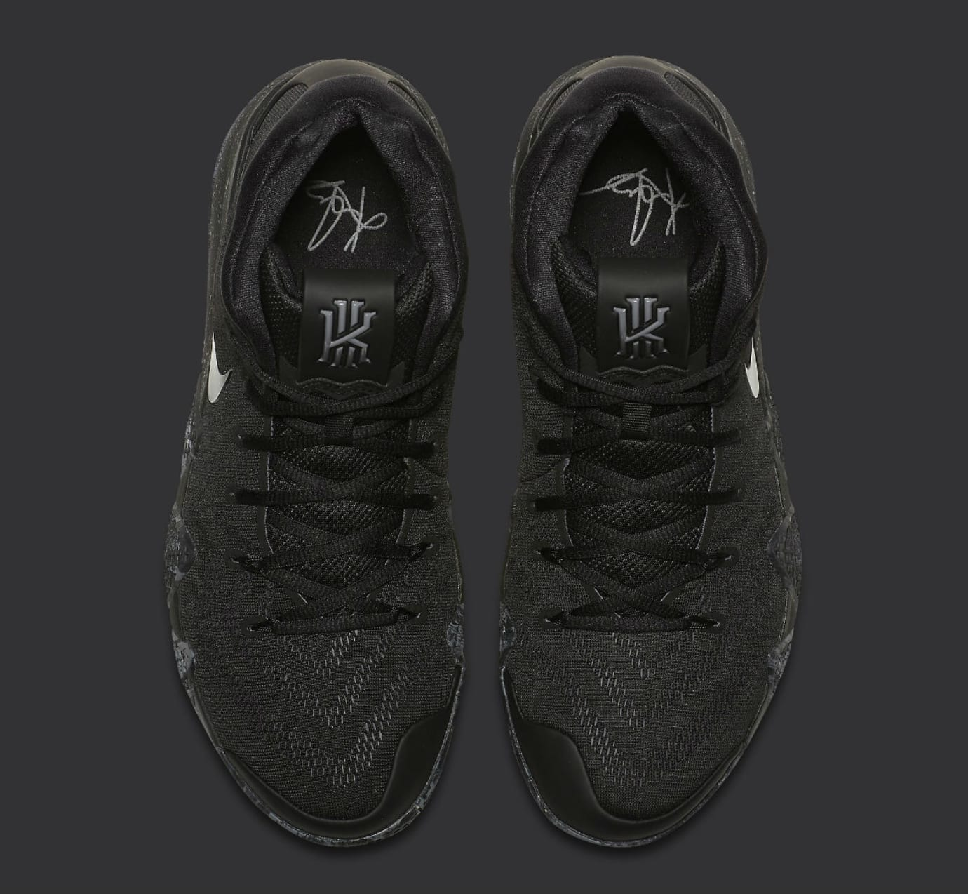 Nike Kyrie 4 Triple Black Release date 943807-008 Top