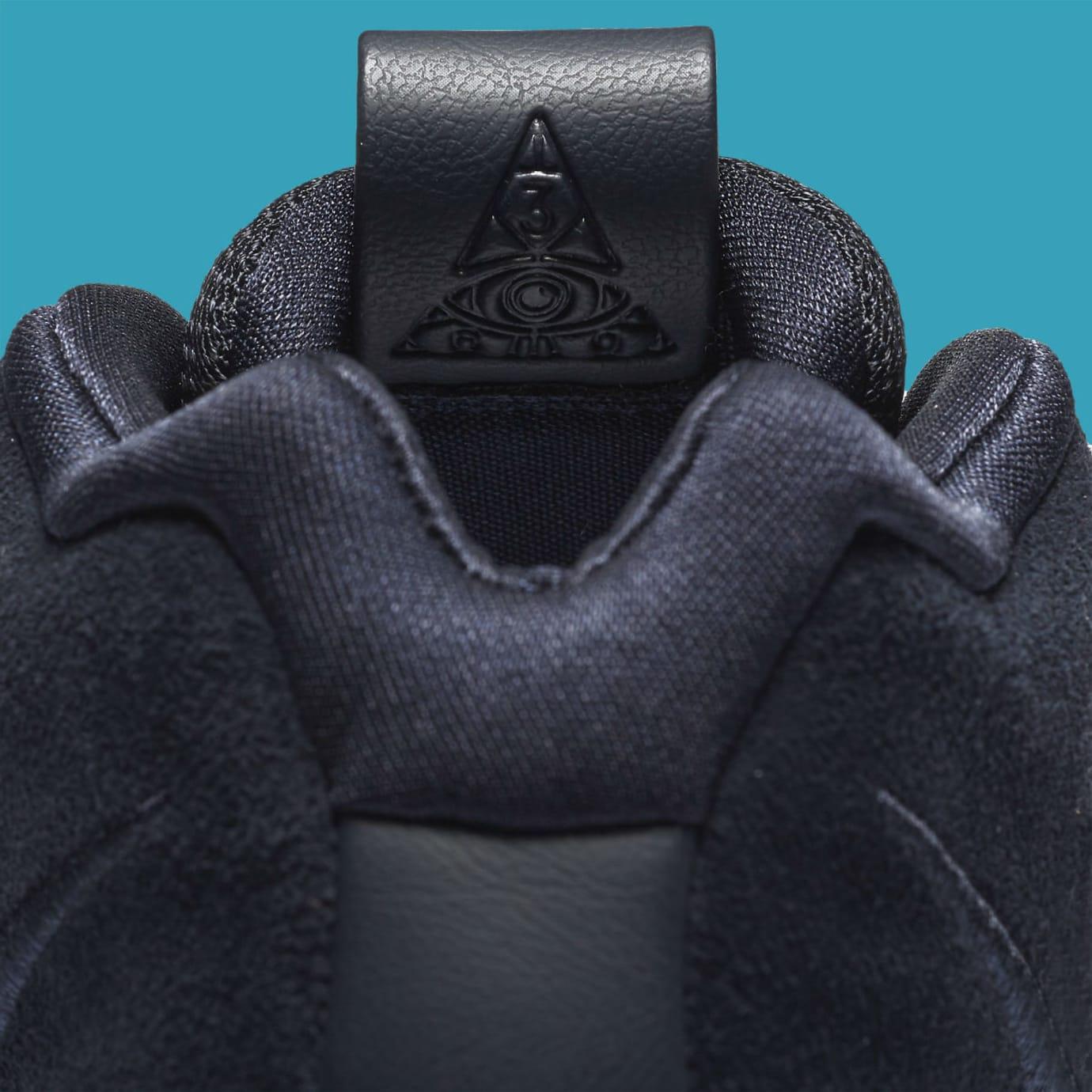 Nike Kyrie 4 Dark Obsidian Release Date 943806-401 Tongue
