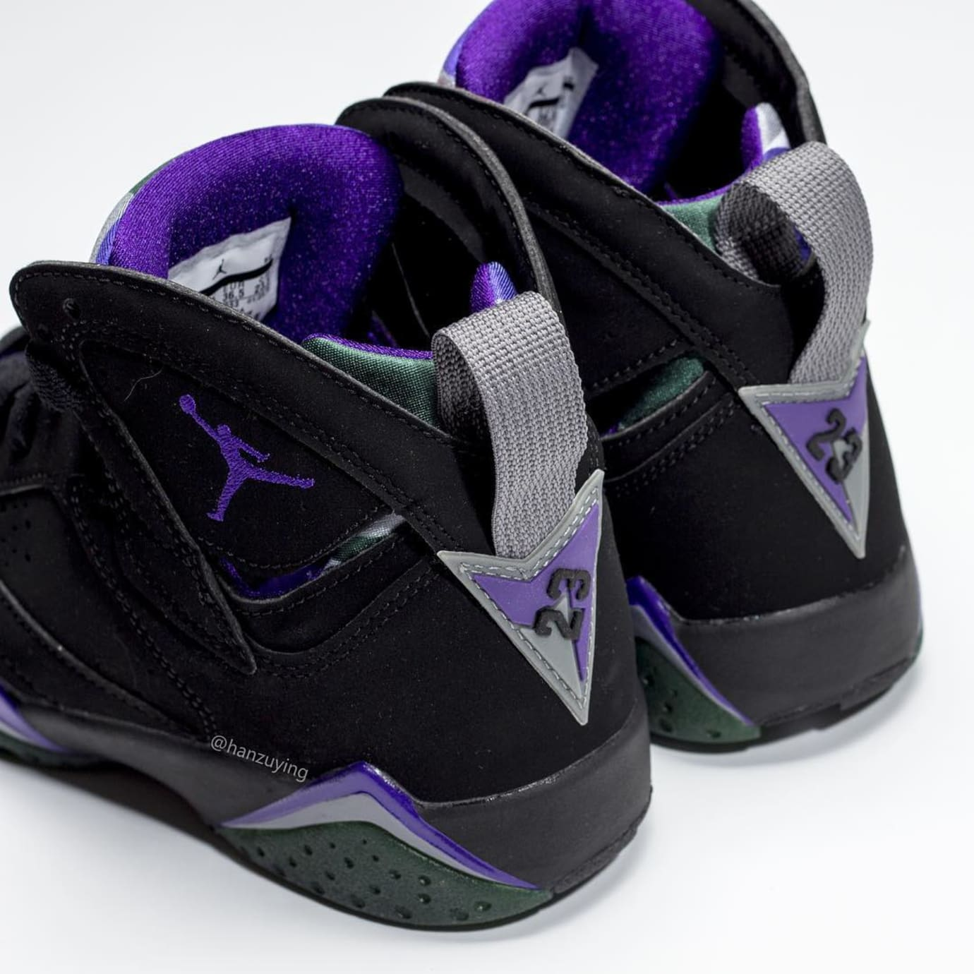 check out b06c4 71d0f Image via hanzuying · Air Jordan 7  Ray Allen PE  304775-053 3