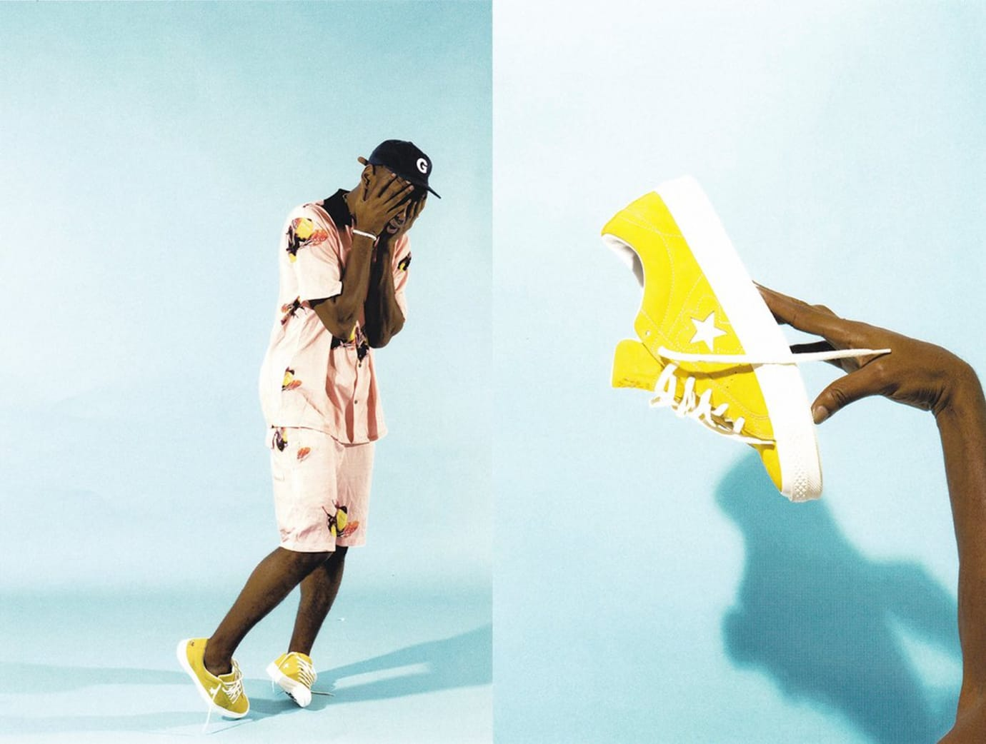Tyler the Creator Converse One Star Flow Boy Yellow