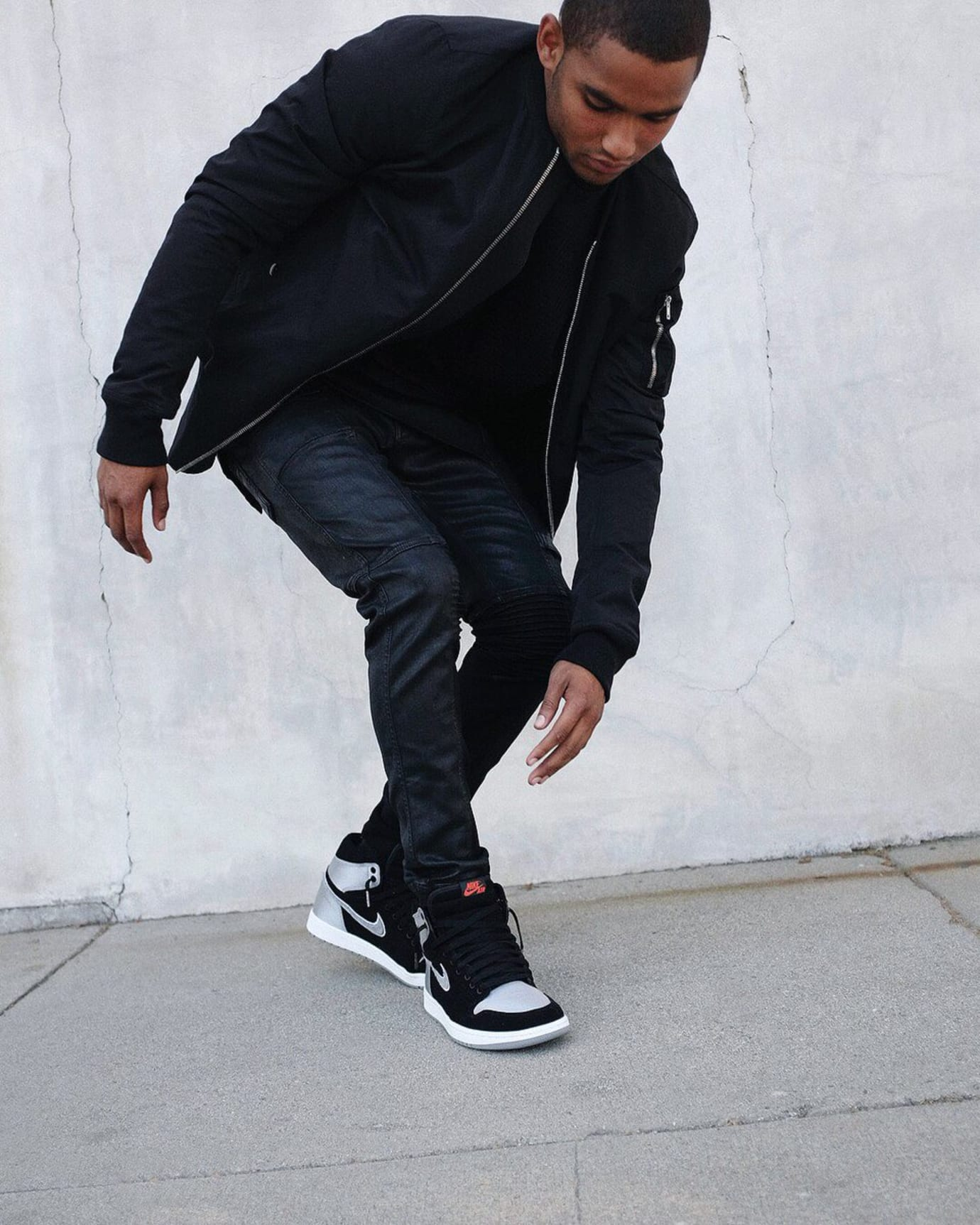 Air Jordan 1 Aleali May Black Silver Release Date Lookbook 3