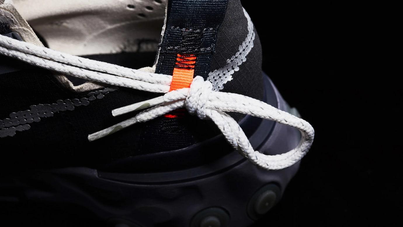 Nike React WR ISPA 'Black/Metallic Silver' AR8555-001 (Laces)