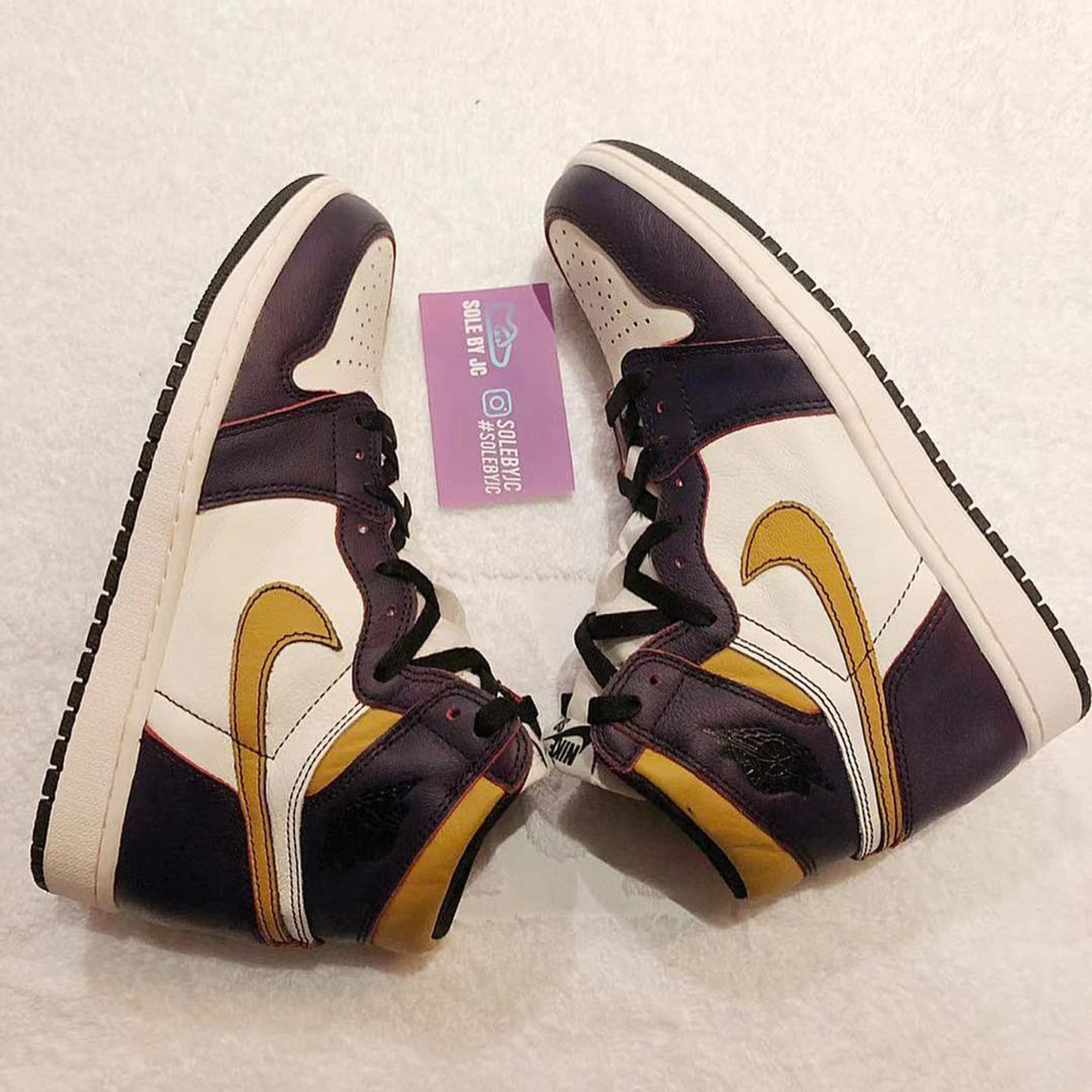 Nike SB x Air Jordan 1 'Lakers' CD6578-507 3