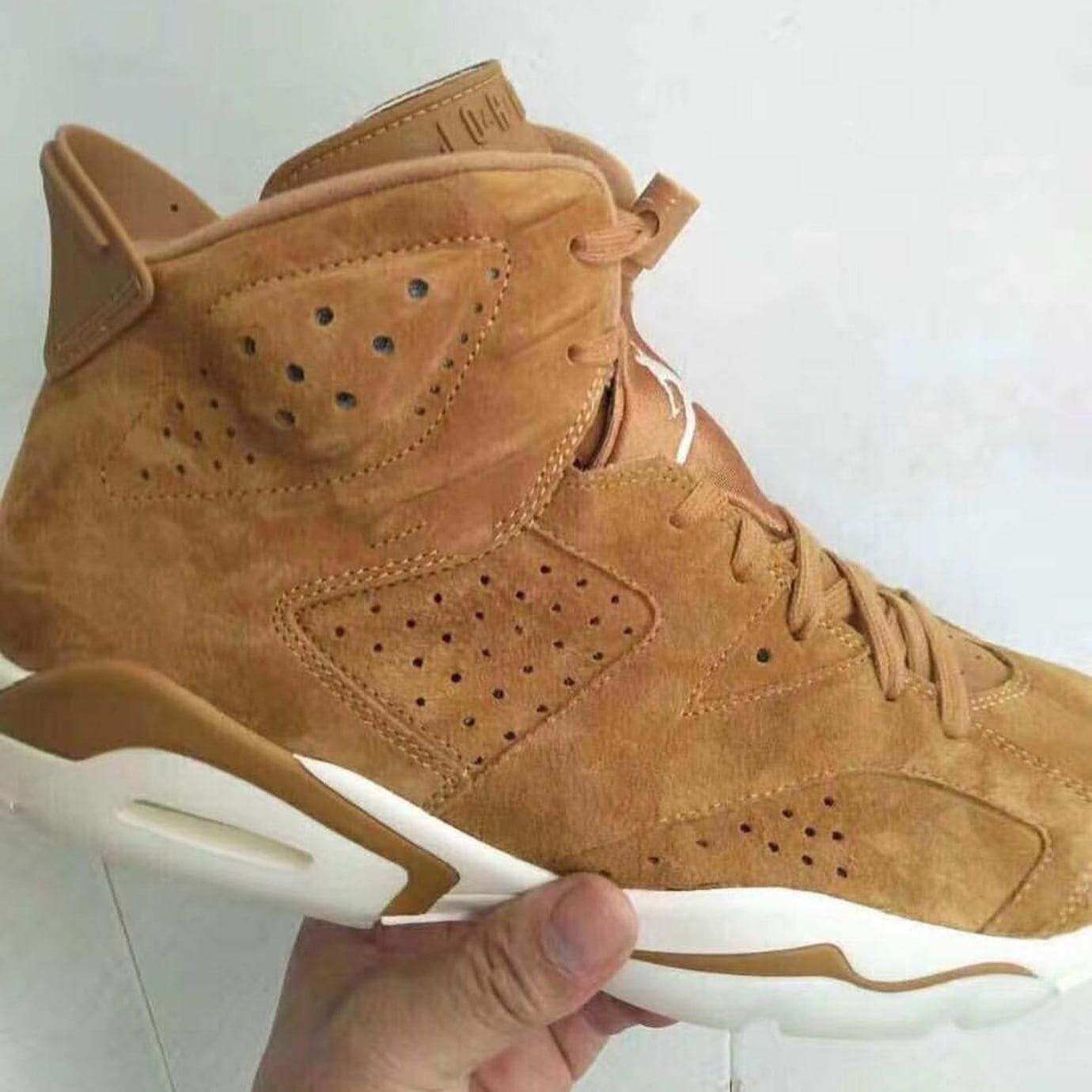 49b286ed3e0977 Air Jordan 6 Golden Harvest Wheat Release Date Profile 384664-705