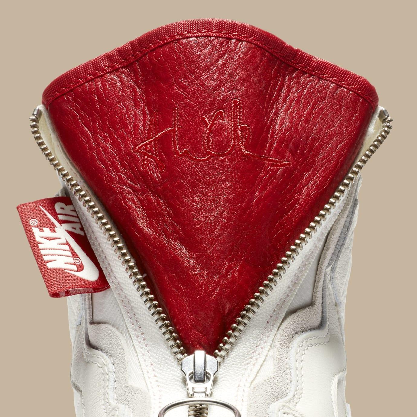 Vogue x Air Jordan 1 Zip AWOK Sail Tongue