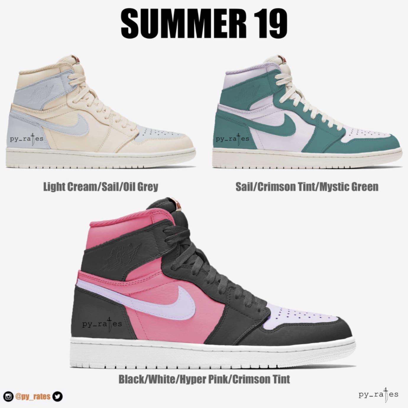 Air Jordan 1 Summer 2019
