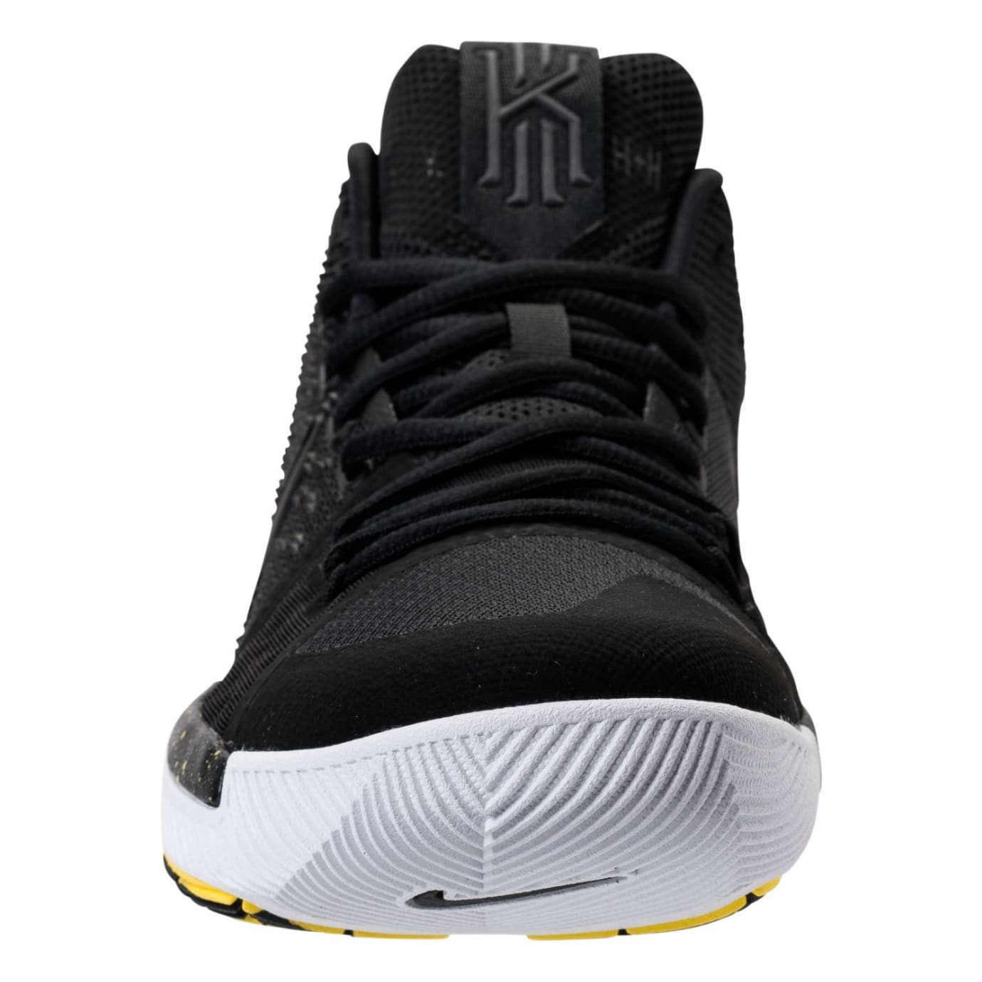 Nike Kyrie 3 Black/Yellow Release Date Front 852395-901