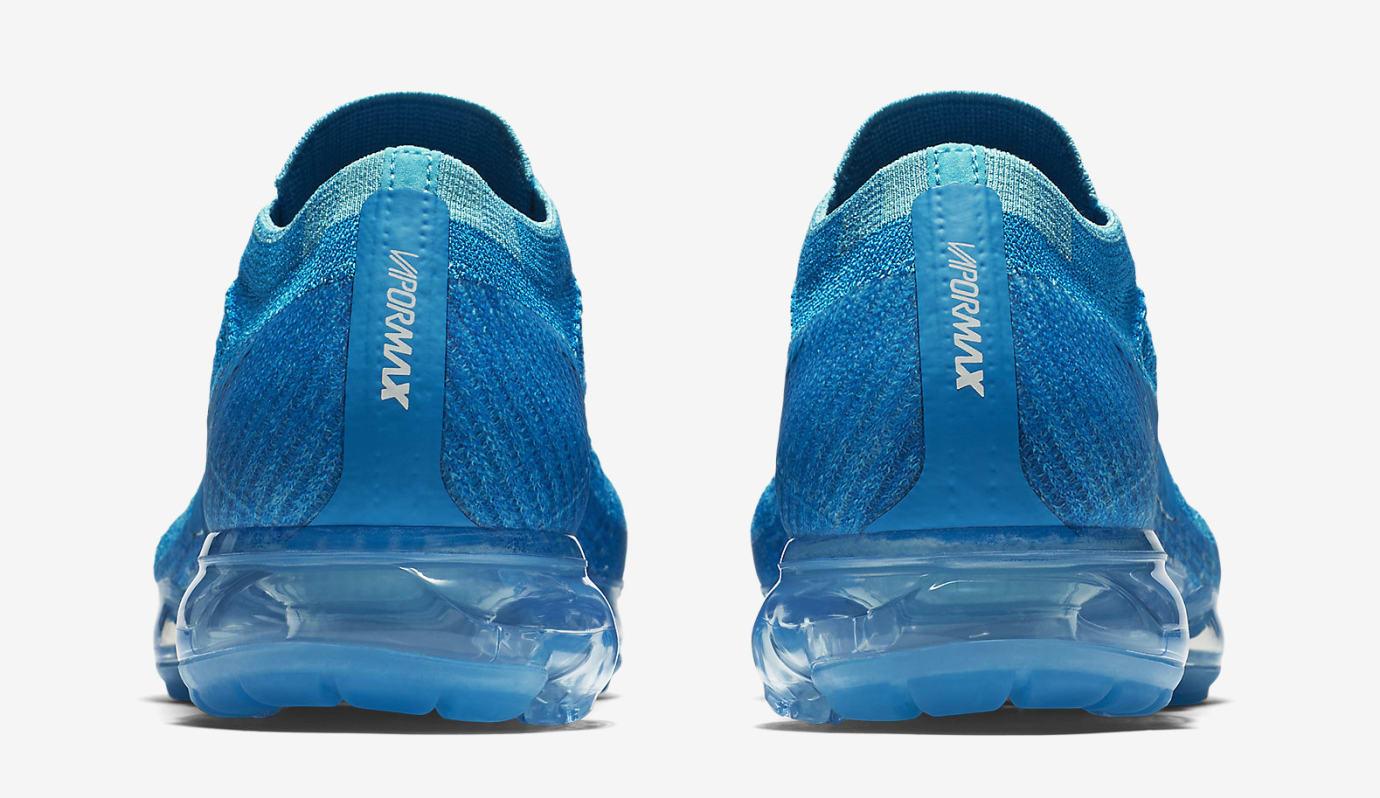 4e46146eb53d7 Image via Nike Blue Orbit Nike Vapormax 849558-402 Heel