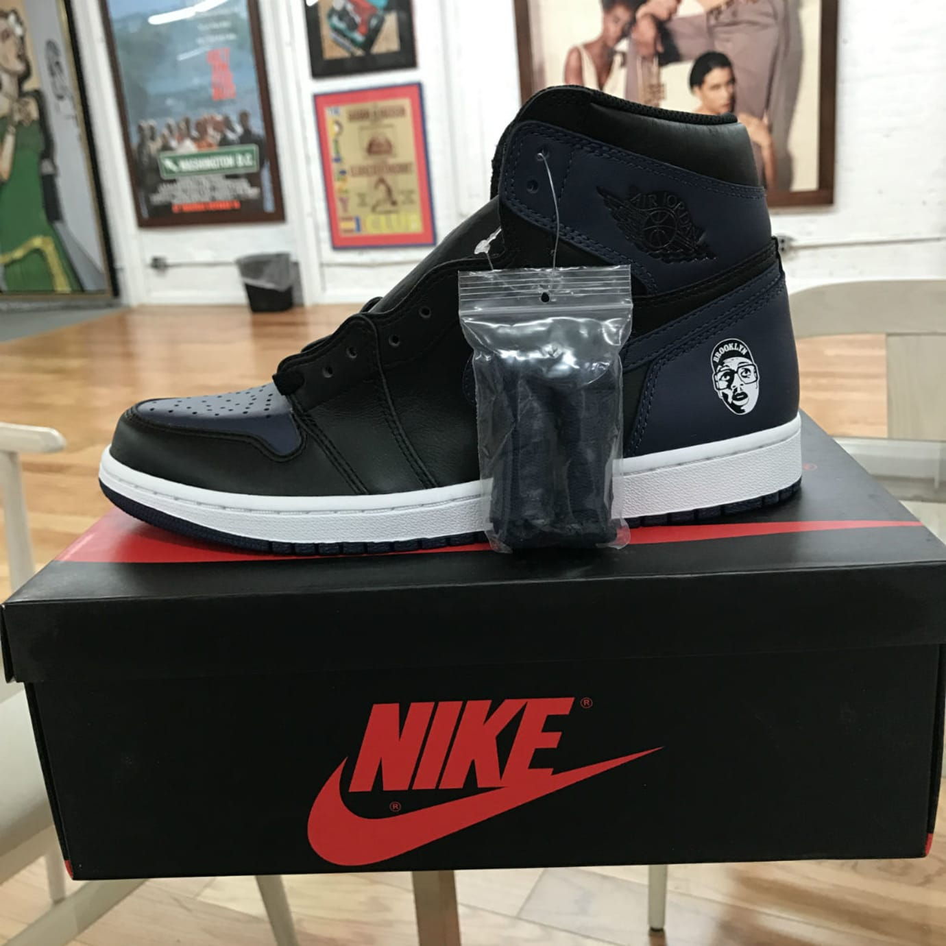 Spike Lee Air Jordan 1 She's Gotta Have It (5)