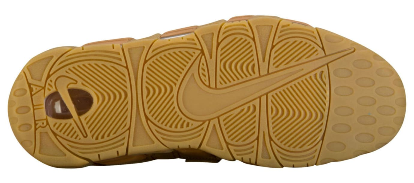 hot sale online d8cac 963b2 Nike Air More Uptempo Wheat Flax Release Date Sole AA4060-200