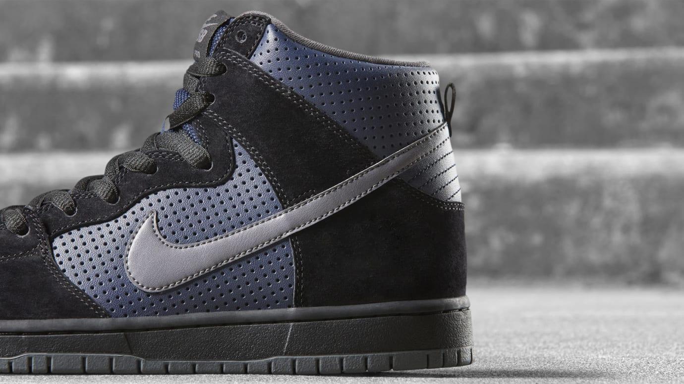 Nike SB Dunk High Gino Iannucci Release Date Heel