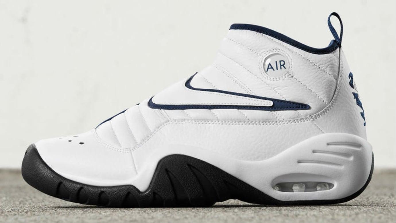 Nike Air Shake Ndestrukt White Navy Profile Release Date