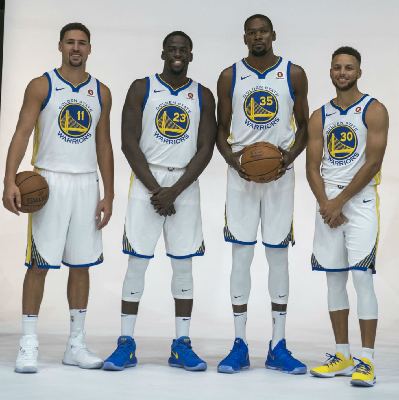 Golden State Warriors Media Day 2017