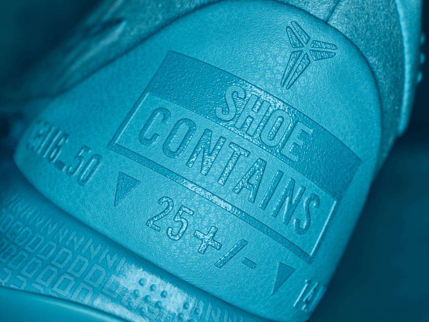 Nike Kobe AD Mid Blue Heel