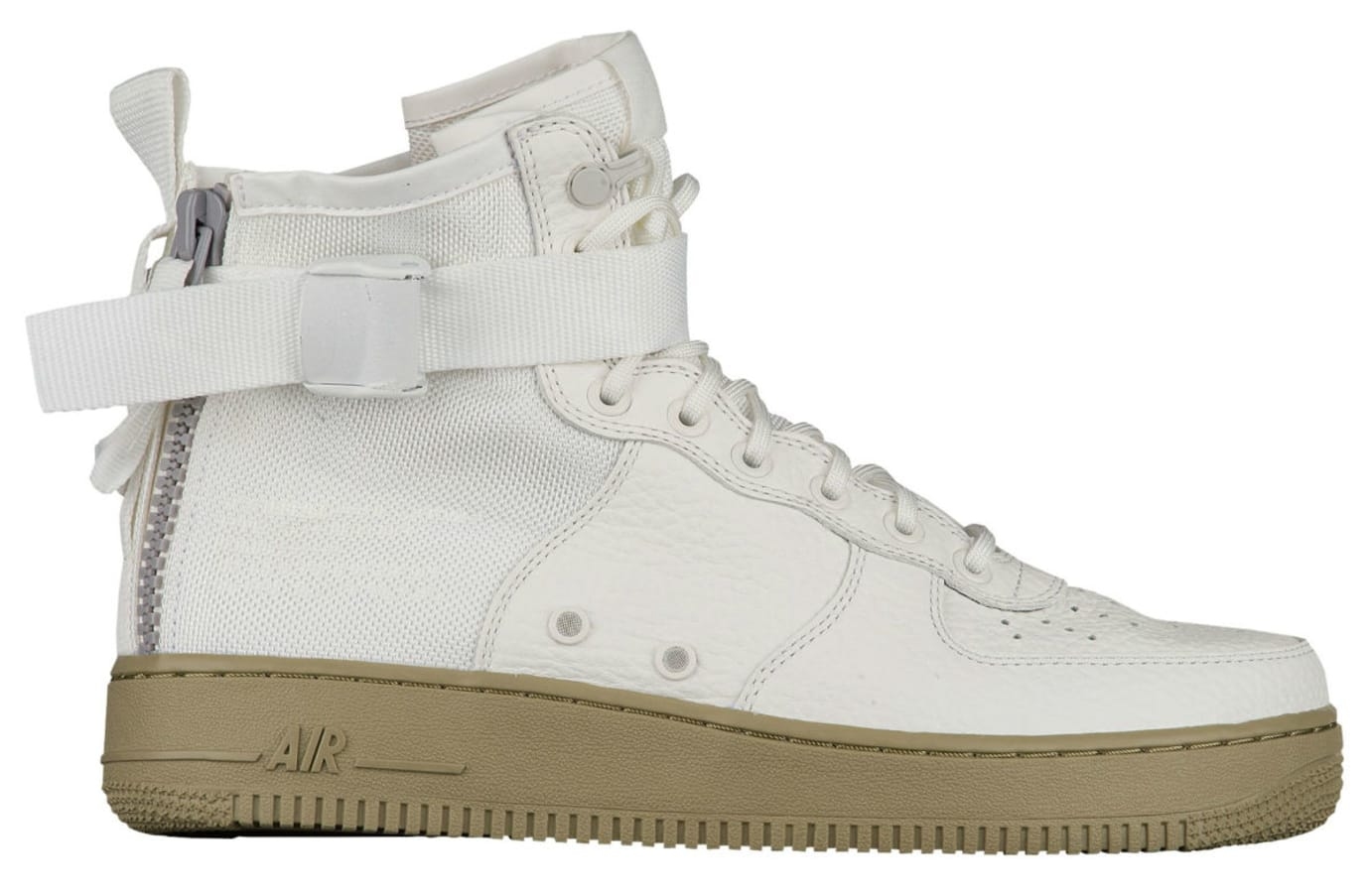 Nike SF Air Force 1 Mid Ivory Neutral Release Date Profile 917753-101