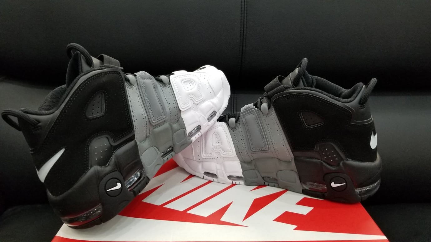309514d19f9 Nike Air More Uptempo Tri-Color Black Grey White Release Date Side 921948  002