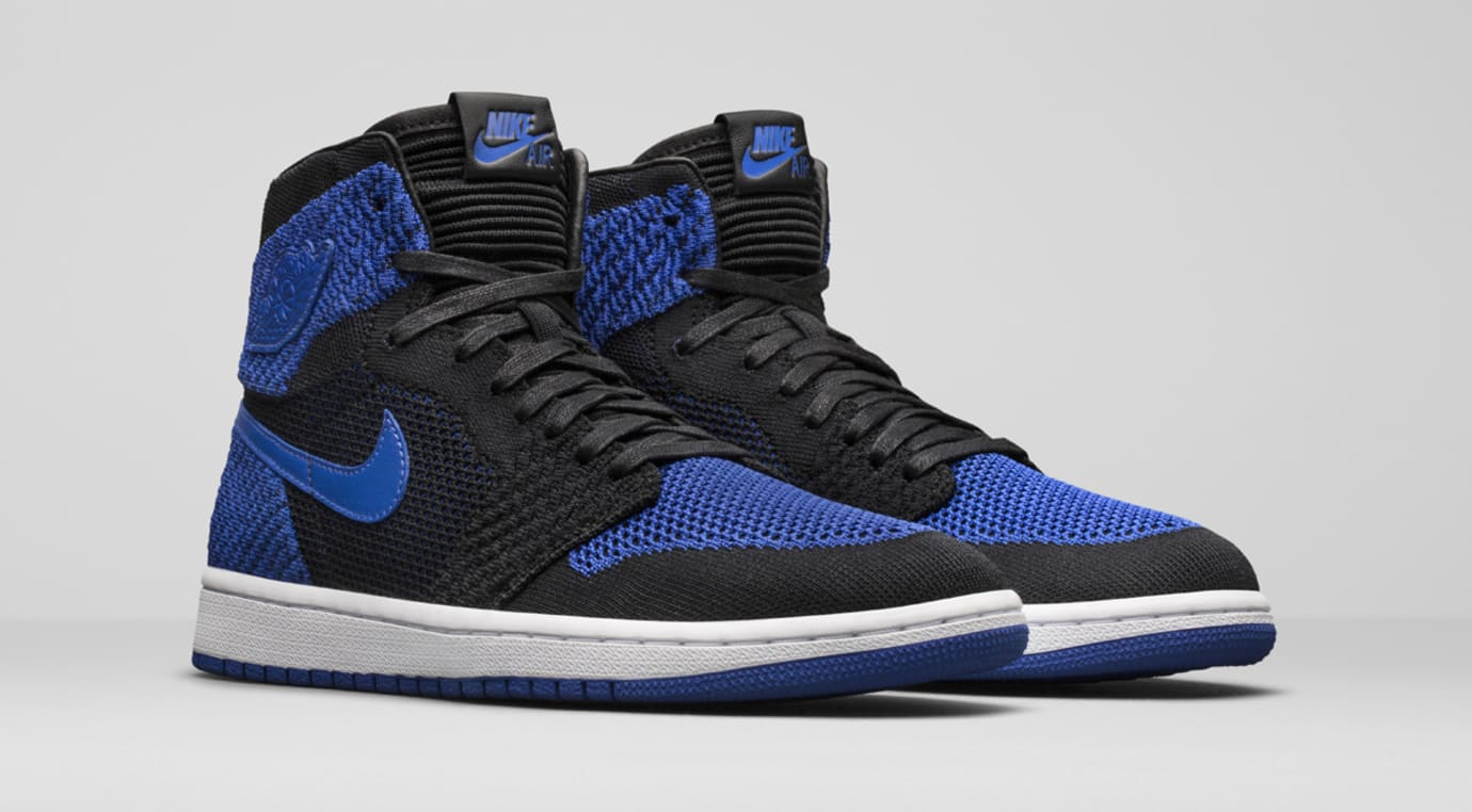 new style 830be e9daf Image via Nike News · Air Jordan 1 High Flyknit Royal