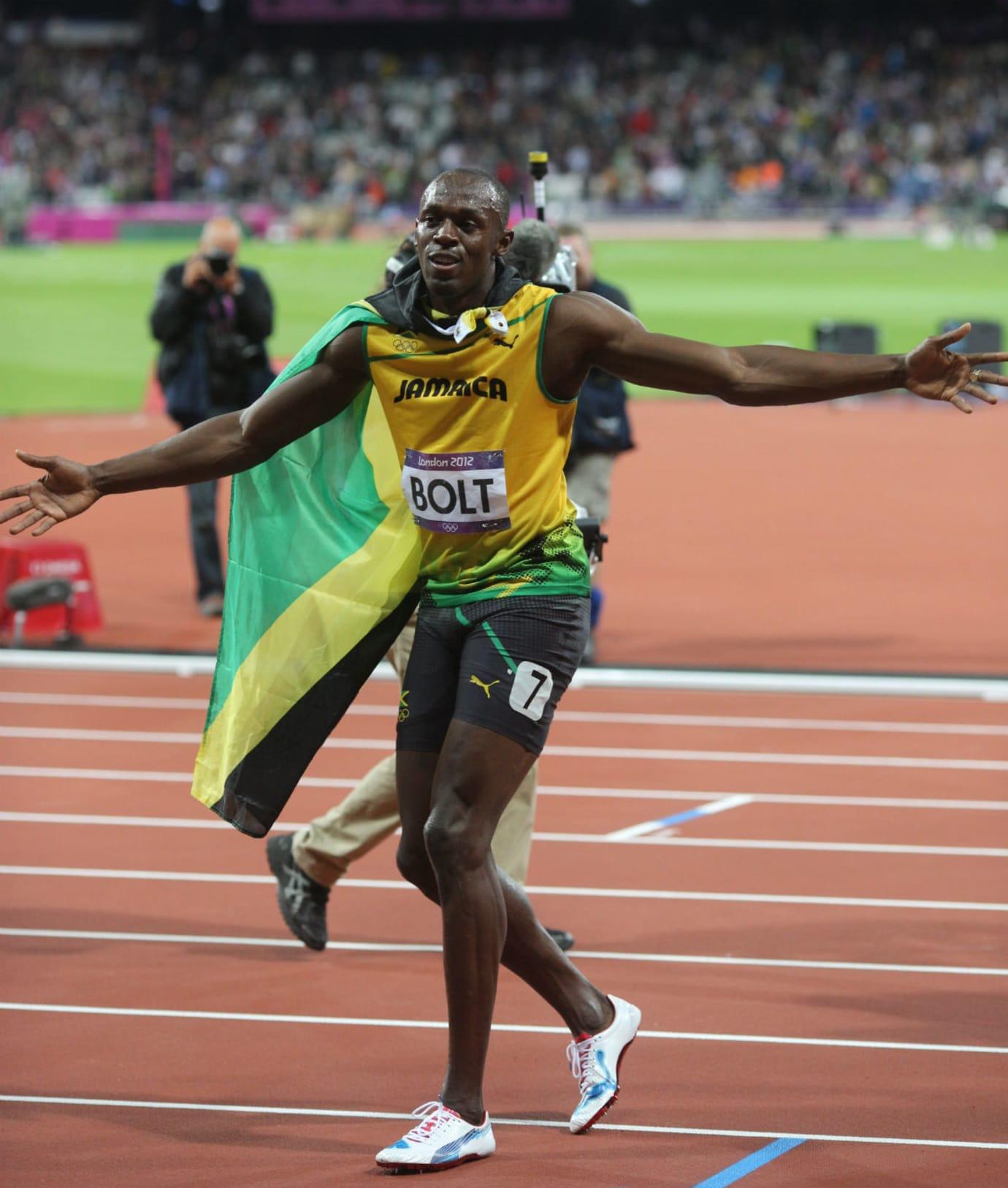 Usain Bolt Sneaker Robbery Puma Spike 2012 London Olympic ...