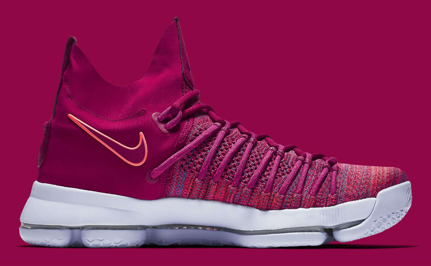 pretty nice f67f7 09ae7 Nike KD 9 Elite Racer Pink Release Date Medial 878639-666