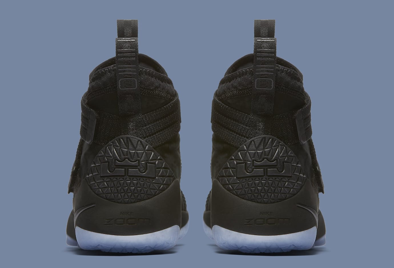 741b383654f9 Black Ice Nike LeBron Soldier 11 897646-001 Strive for Greatness ...