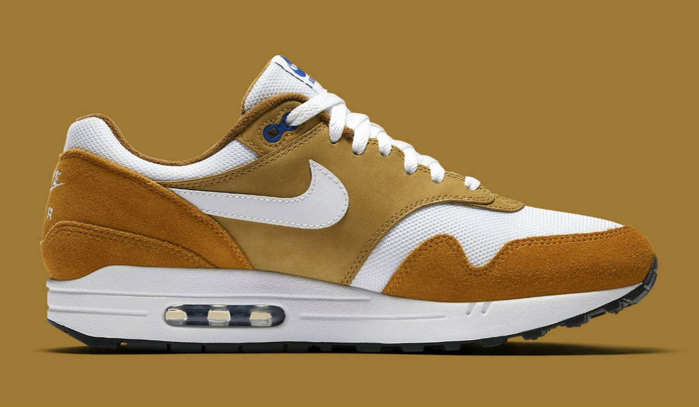 Nike Air Max 1 Curry 2018 Release Date 908366-700 Medial