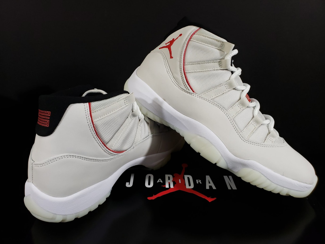 3de9fa349cca9a Image via Fineline1721 · Air Jordan 11 XI Platinum Tint Release Date  378037-016 Right