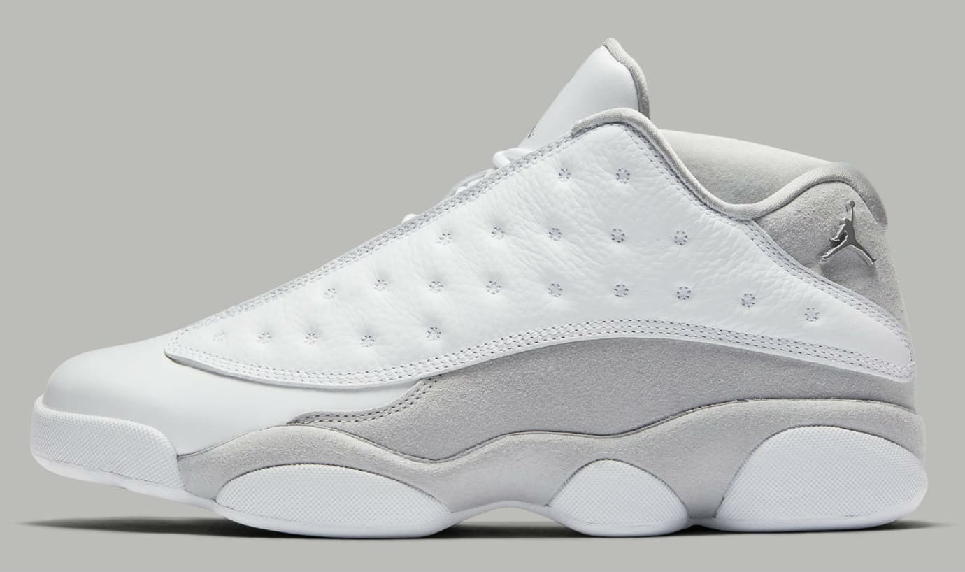 5d938ec8a52 Air Jordan 13 Low Pure Platinum Release Date 310810-100 | Sole Collector