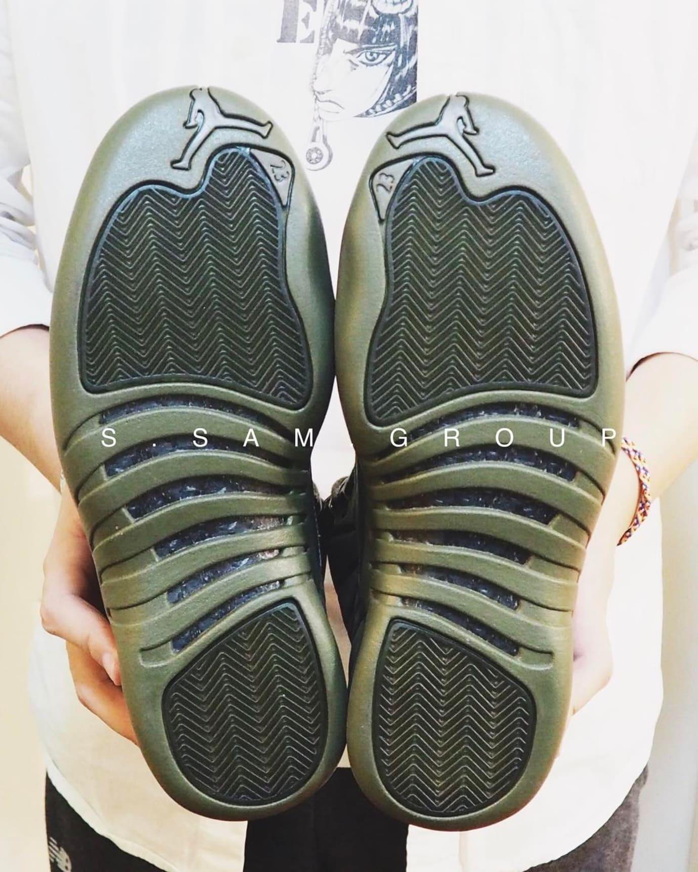 PSNY x Air Jordan 12 Olive Release Date (7)