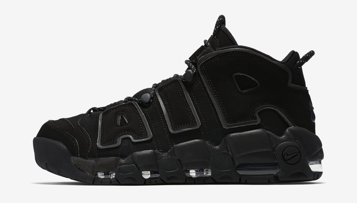 Nike Air More Uptempo BlackReflective 414962 004 Restock