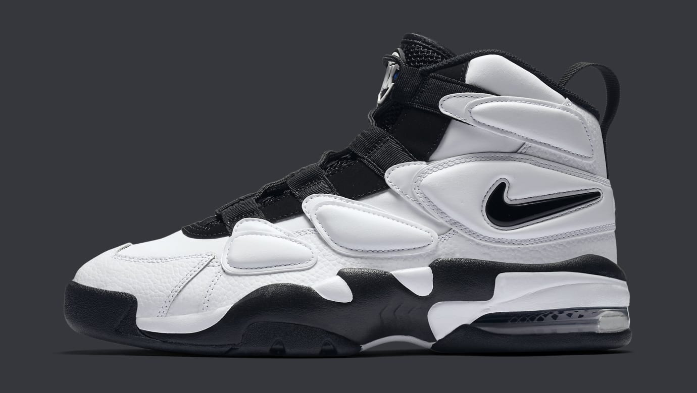Nike Air Max 2 Uptempo 94 White Black 922934-102 Profile